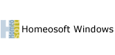 Homeosoft Windows